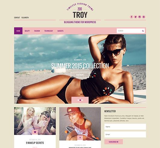 On line templates για Blogging