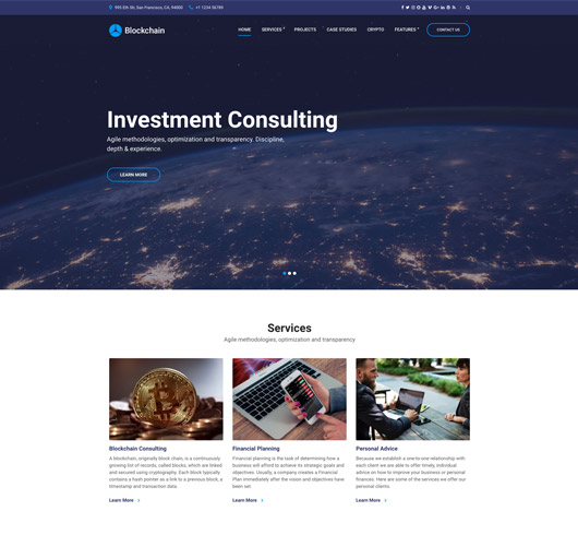 Business on line website