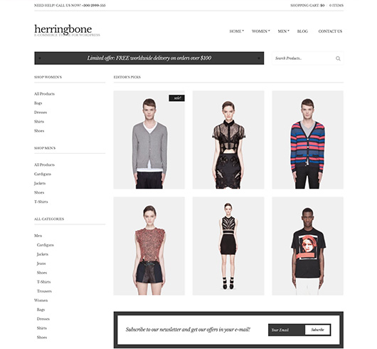 eshop on line website